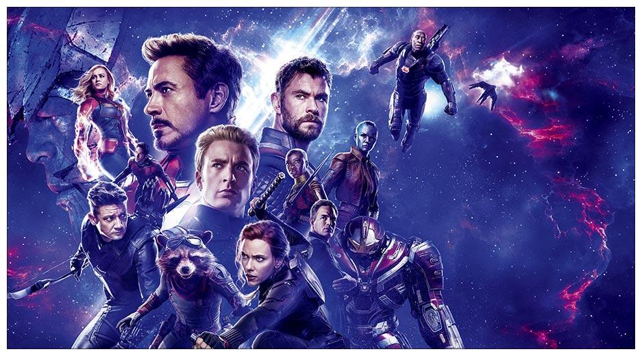 Неформатный постер Avengers / Мстители